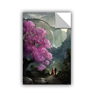ArtWall 'The Path' Art Appeelz Removable Wall Art Graphic 16