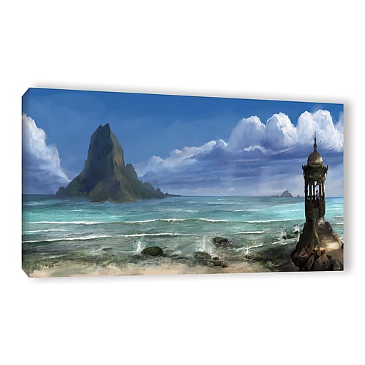 "ArtWall 'The Proposal' Gallery-Wrapped Canvas 12"" x 24"" (0goa025a1224w)"