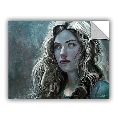 ArtWall 'The Witch' Art Appeelz Removable Wall Art Graphic 24