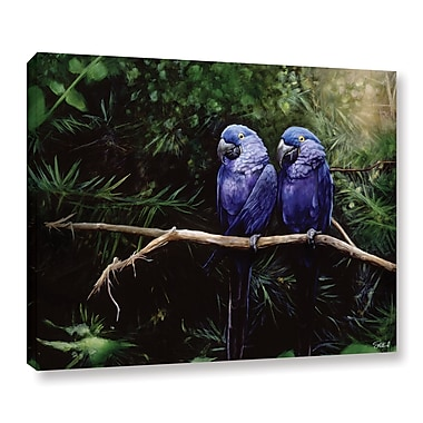 ArtWall 'Twins' Gallery-Wrapped Canvas 36