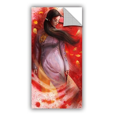 ArtWall 'Vietnam' Art Appeelz Removable Wall Art Graphic 24