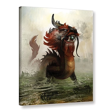 ArtWall 'Vietnamese Dragon' Gallery-Wrapped Canvas 36