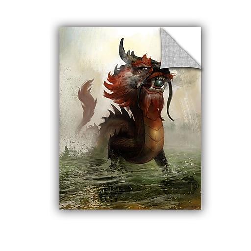 "ArtWall ""Vietnamese Dragon"" Art Appeelz Removable Wall Art Graphic 14"" x 18"" (0goa029a1418p)"