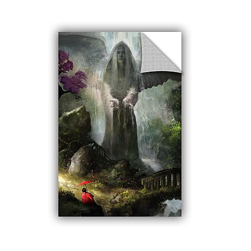 """ArtWall 'A Place To Ponder' Art Appeelz Removable Wall Art Graphic 32"""" x 48"""" (0goa034a3248p)"""
