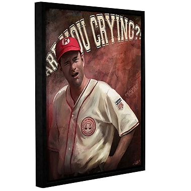 ArtWall 'Are You Crying' Gallery-Wrapped Canvas 24