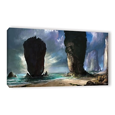 ArtWall 'Beach Front' Gallery-Wrapped Canvas 12