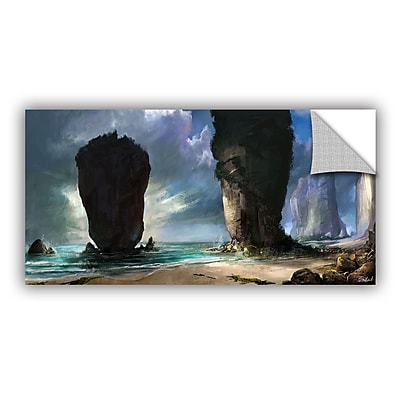 ArtWall 'Beach Front' Art Appeelz Removable Wall Art Graphic 24