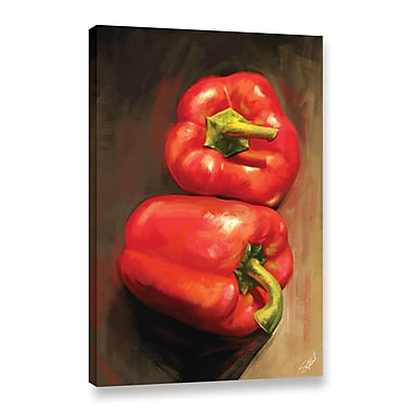 ArtWall 'Bell Peppers' Gallery-Wrapped Canvas 16