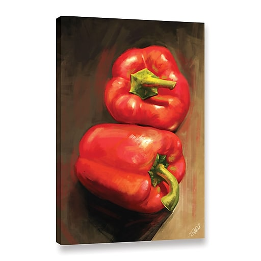 "ArtWall 'Bell Peppers' Gallery-Wrapped Canvas 24"" x 36"" (0goa039a2436w)"