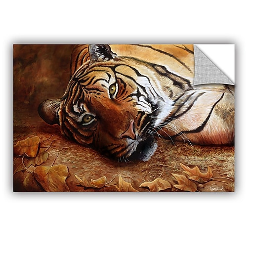 "ArtWall 'Bengal Tiger' Art Appeelz Removable Wall Art Graphic 12"" x 18"" (0goa040a1218p)"