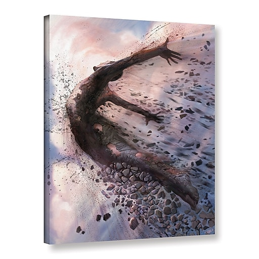 """ArtWall 'Breaking The Mold' Gallery-Wrapped Canvas 24"""" x 32"""" (0goa043a2432w)"""
