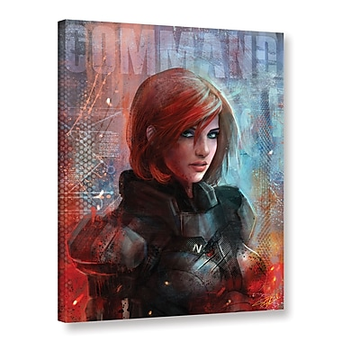 ArtWall 'Call Me Commander' Gallery-Wrapped Canvas 24