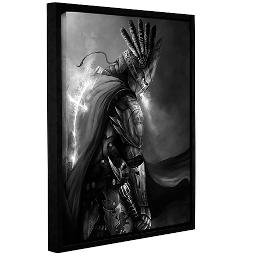 """ArtWall """"Christ Within 2"""" Gallery-Wrapped Canvas 36"""" x 48"""" Floater-Framed (0goa047a3648f)"""