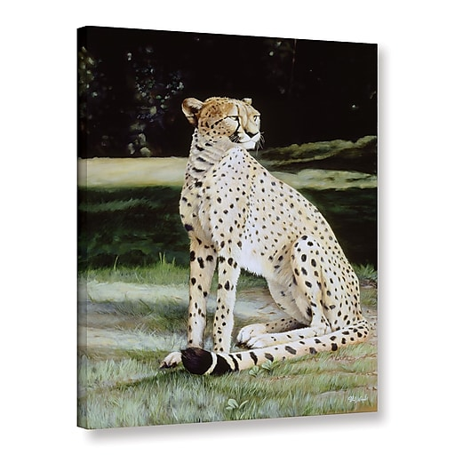 "ArtWall 'Crowned Regal' Gallery-Wrapped Canvas 18"" x 24"" (0goa050a1824w)"