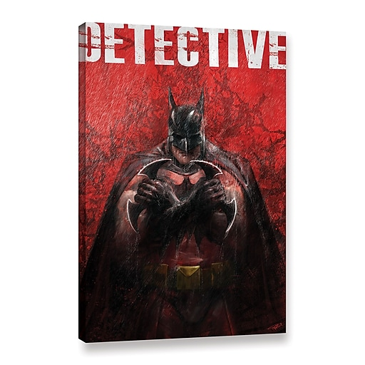 """ArtWall """"Detective"""" Gallery-Wrapped Canvas 24"""" x 36"""" (0goa053a2436w)"""