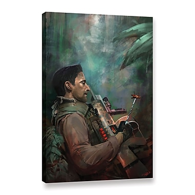 ArtWall 'The Hunting Of Man' Gallery-Wrapped Canvas 16