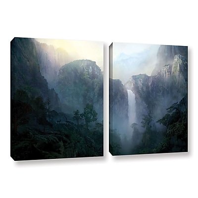 ArtWall 'Afternoon Light' 2-Piece Gallery-Wrapped Canvas Set 32