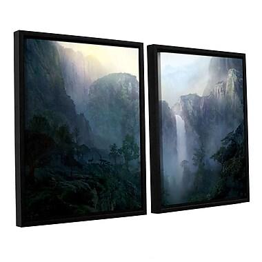 ArtWall 'Afternoon Light' 2-Piece Canvas Set 32