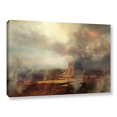ArtWall 'Before The Rain' Gallery-Wrapped Canvas 32
