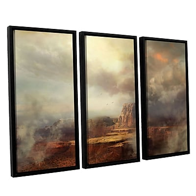 ArtWall 'Before The Rain' 3-Piece Canvas Set 36