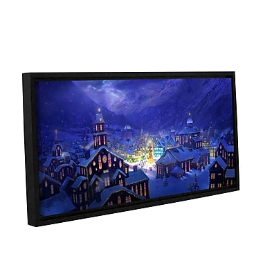 ArtWall 'Christmas Town' Gallery-Wrapped Canvas 12