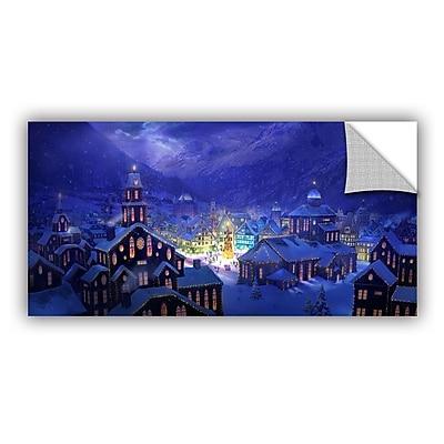 ArtWall 'Christmas Town' Art Appeelz Removable Wall Art Graphic 24