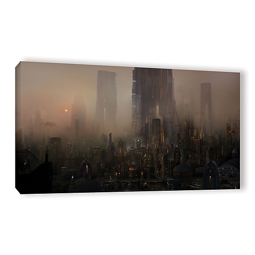 "ArtWall 'Cohabitations' Gallery-Wrapped Canvas 18"" x 36"" (0str005a1836w)"