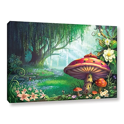 ArtWall 'Enchanted Forest' Gallery-Wrapped Canvas 12