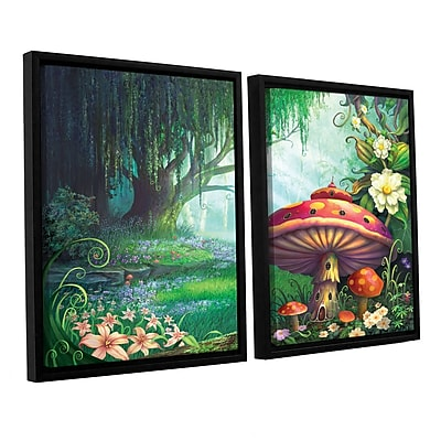 ArtWall 'Enchanted Forest' 2-Piece Canvas Set 32