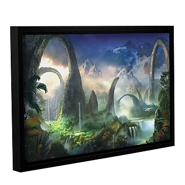 ArtWall 'Great North Road' Gallery-Wrapped Canvas 12