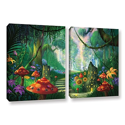 ArtWall 'Hidden Treasure' 2-Piece Gallery-Wrapped Canvas Set 18