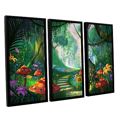 ArtWall 'Hidden Treasure' 3-Piece Canvas Set 36