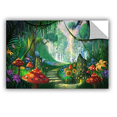 "ArtWall 'Hidden Treasure' Art Appeelz Removable Wall Art Graphic 32"" x 48"" (0str009a3248p)"