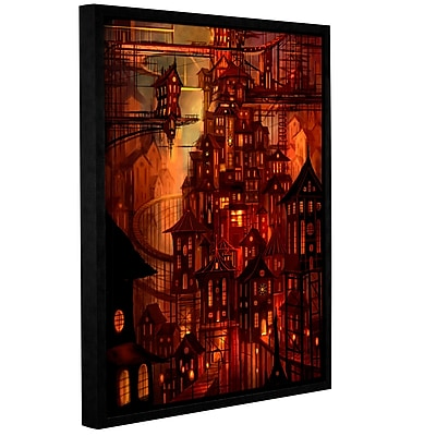 """ArtWall """"Illuminations"""" Gallery-Wrapped Canvas 18"""" x 24"""" Floater-Framed (0str010a1824f)"""