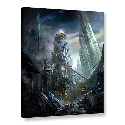 "ArtWall 'Industrialize' Gallery-Wrapped Canvas 14"" x 18"" (0str011a1418w)"