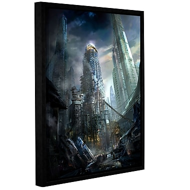 ArtWall 'Industrialize' Gallery-Wrapped Canvas 36