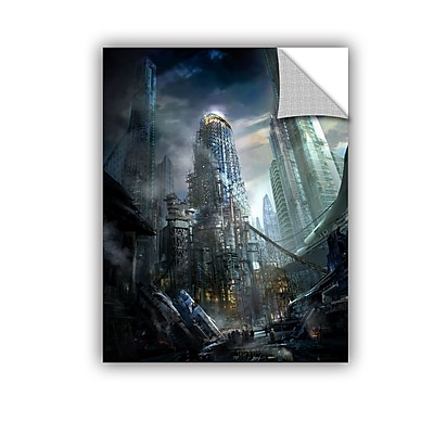 ArtWall 'Industrialize' Art Appeelz Removable Wall Art Graphic 14