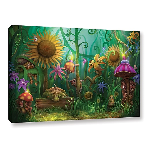 """ArtWall 'Meet The Imaginaries' Gallery-Wrapped Canvas 32"""" x 48"""" (0str012a3248w)"""