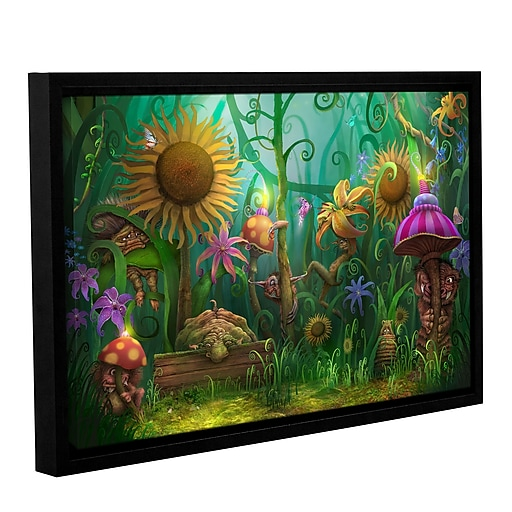 "ArtWall 'Meet The Imaginaries' Gallery-Wrapped Canvas 24"" x 36"" Floater-Framed (0str012a2436f)"