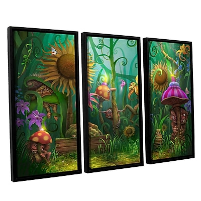 ArtWall 'Meet The Imaginaries' 3-Piece Canvas Set 36