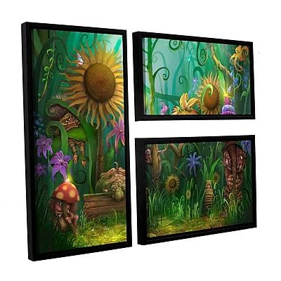 ArtWall 'Meet The Imaginaries' 3-Piece Canvas Flag Set 24