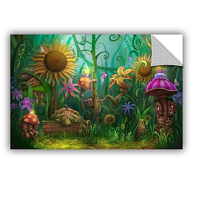 ArtWall 'Meet The Imaginaries' Art Appeelz Removable Wall Art Graphic 24