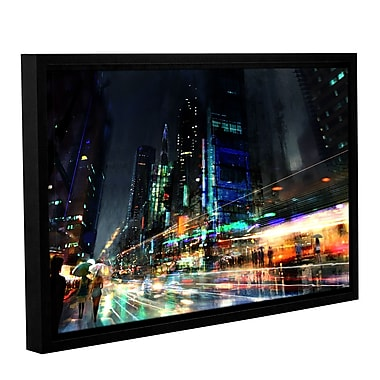 ArtWall 'Night City 3' Gallery-Wrapped Canvas 32