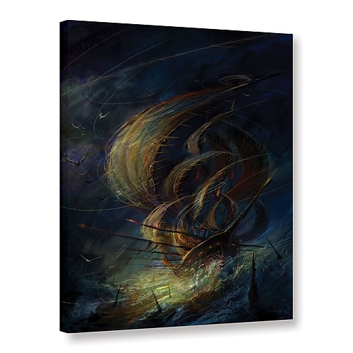 """ArtWall 'The Apparition' Gallery-Wrapped Canvas 14"""" x 18"""" (0str016a1418w)"""