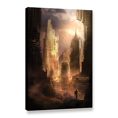ArtWall 'The Arrival' Gallery-Wrapped Canvas 12