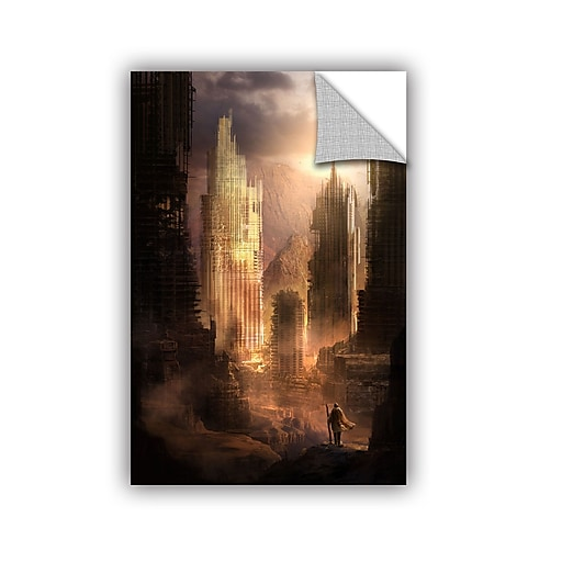 """ArtWall 'The Arrival' Art Appeelz Removable Wall Art Graphic 24"""" x 36"""" (0str017a2436p)"""
