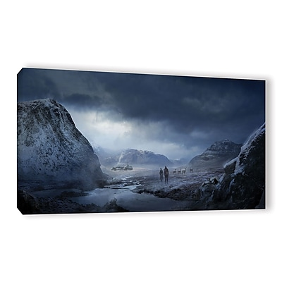 ArtWall 'Winter' Gallery-Wrapped Canvas 12
