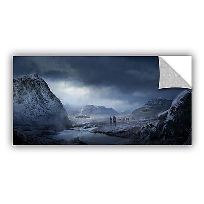 ArtWall 'Winter' Art Appeelz Removable Wall Art Graphic 16