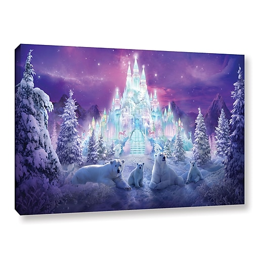 "ArtWall 'Winter Wonderland' Gallery-Wrapped Canvas 12"" x 18"" (0str020a1218w)"