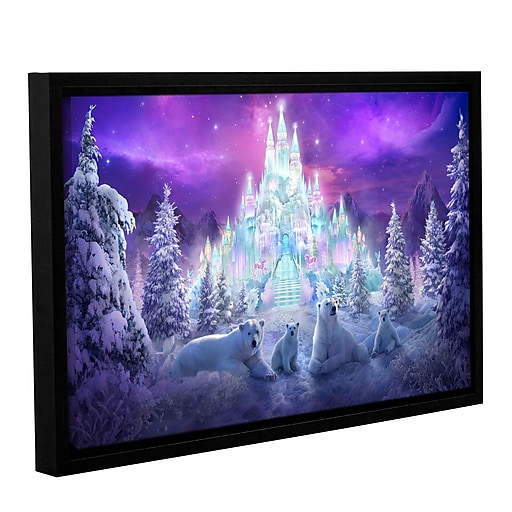 "ArtWall ""Winter Wonderland"" Gallery-Wrapped Canvas 32"" x 48"" Floater-Framed (0str020a3248f)"